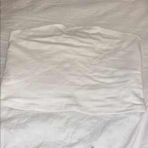 White give top from garage